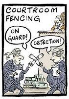 Alex Williams courtroom fencing